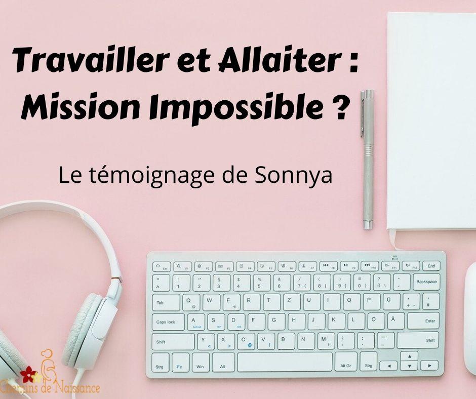 Allaiter en travaillant : mission impossible ?